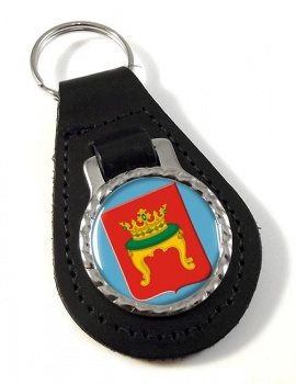 Tver Leather Key Fob