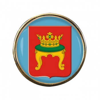Tver Round Pin Badge