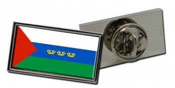 Tyumen Oblast Flag Pin Badge