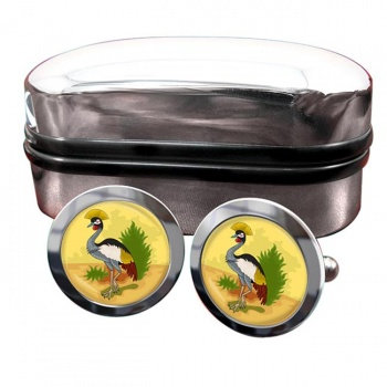 Uganda Badge Crest Cufflinks