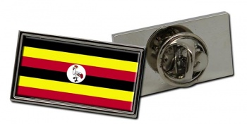 Uganda Flag Pin Badge