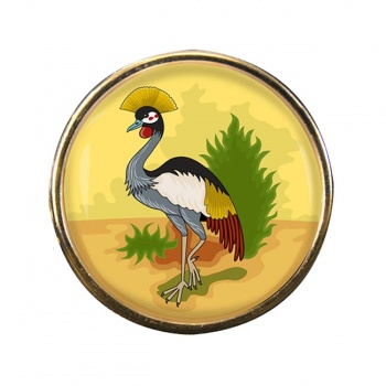 Uganda Badge Round Pin Badge