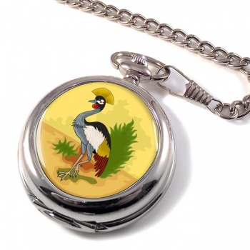 Uganda Badge Pocket Watch