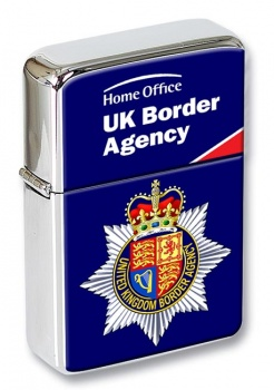 UK Border Agency Rectangle Cufflink and Tie Pin Set