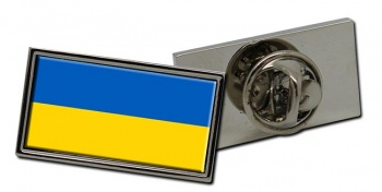 Ukraine  Flag Pin Badge