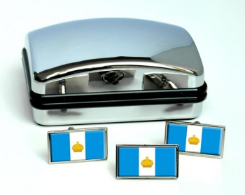 Ulyanovsk Flag Cufflink and Tie Pin Set