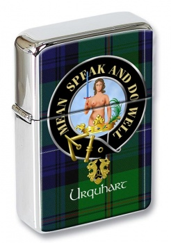 Urquhart Scottish Clan Flip Top Lighter