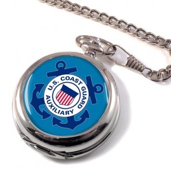 United States Coast Guard Auxiliary Pocket Watch