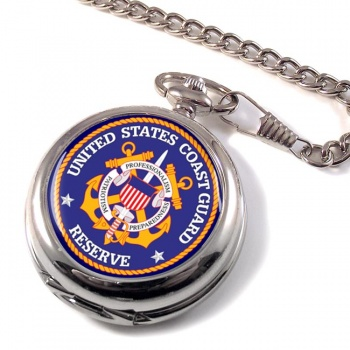 United States Coast Guard Reserve  Pocket Watch