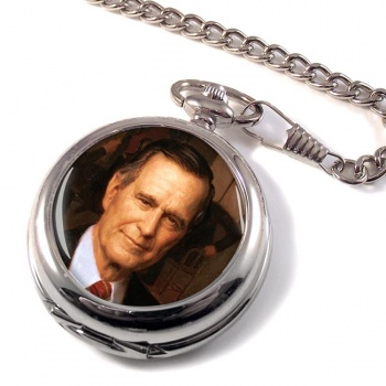 President George Bush Pocket Watch