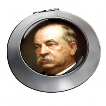 President Grover Cleveland Chrome Mirror