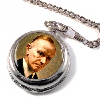 President Calvin Coolidge Pocket Watch