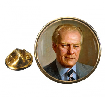 President Gerald Ford Round Pin Badge
