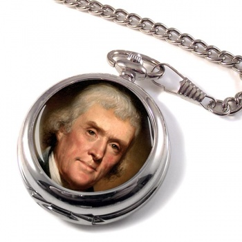 President Thomas Jefferson Pocket Watch
