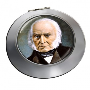 President John Quincy Adams Chrome Mirror
