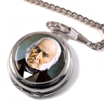 President John Quincy Adams Pocket Watch