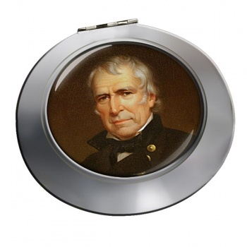 President Zachary Taylor Chrome Mirror