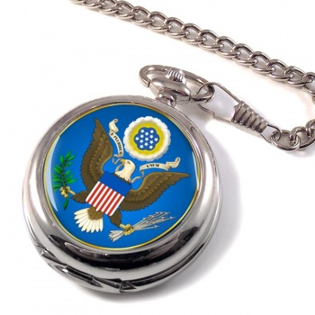 United States Seal obverse (USA) Pocket Watch