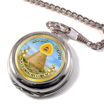 United States Masonic Seal Reverse (USA) Pocket Watch