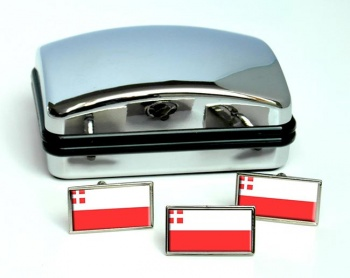Utrecht (Netherlands) Flag Cufflink and Tie Pin Set