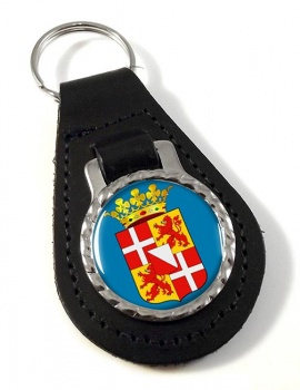 Utrecht (Netherlands) Leather Key Fob