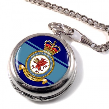 RAF Station Valley Pocket Watch