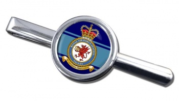 RAF Station Valley Round Tie Clip