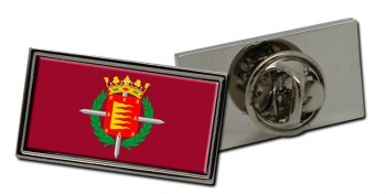 Valladolid Ciudad (Spain) Flag Pin Badge