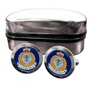 Vancouver Police Round Cufflinks