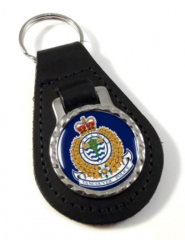Vancouver Police Leather Key Fob