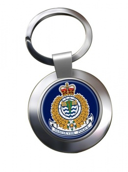 Vancouver Police Chrome Key Ring