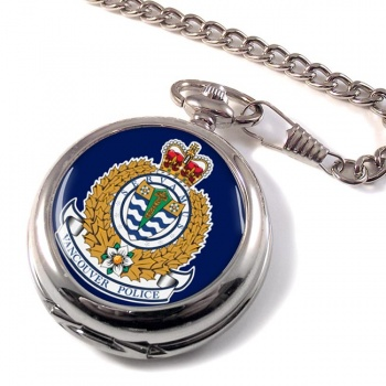 Vancouver Police Pocket Watch