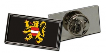 Vlaams-Brabant (Belgium) Flag Pin Badge