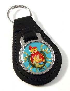 Venice Venezia (Italy) Leather Key Fob