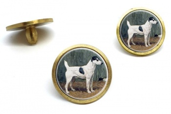VENIO (A Fox Terrier) by John Emms  Golf Ball Marker Set