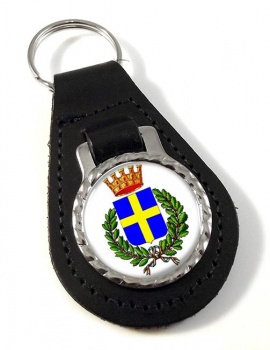 Verona (Italy) Leather Key Fob