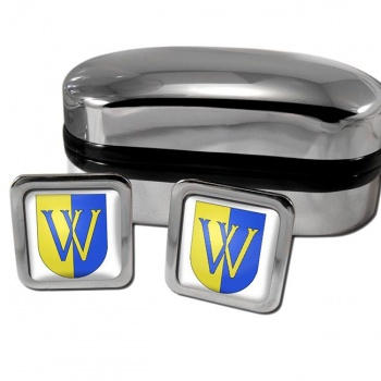 Vevey Switzerland Square Cufflinks