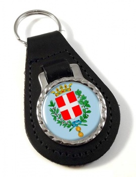 Vicenza (Italy) Leather Key Fob
