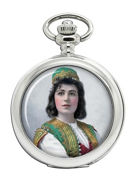 Viola Allen Pocket Watch