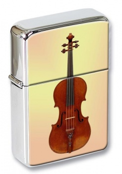 Violin Flip Top Lighter