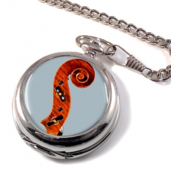 Violin Pocket Watch