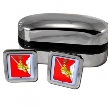 Vologda Square Cufflinks