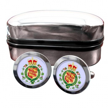 Welsh Coat of arms Crest Cufflinks