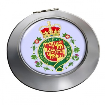 Welsh Coat of arms Round Mirror