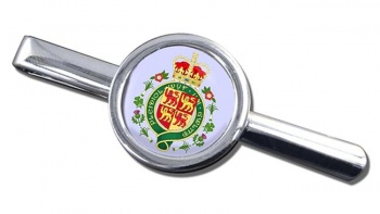 Welsh Coat of arms Round Tie Clip