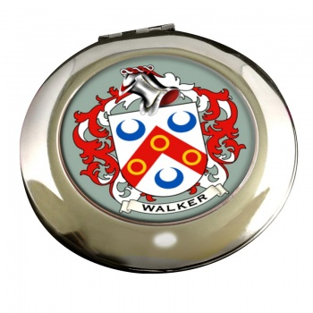 Walker Coat of Arms Chrome Mirror