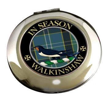 Walkinshaw Scottish Clan Chrome Mirror