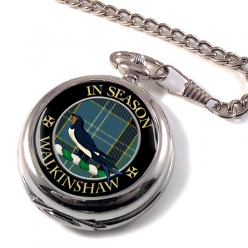 Walkinshaw Scottish Clan Pocket Watch