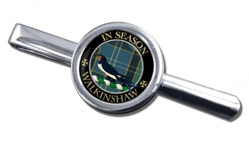 Walkinshaw Scottish Clan Round Tie Clip