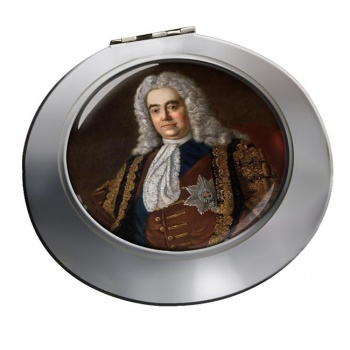 Robert Walpole Chrome Mirror